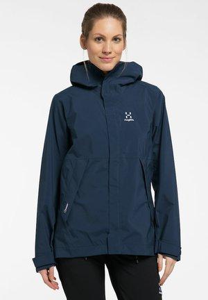 TJÄRN JACKET - Hardshell jacket - tarn blue