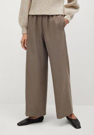 TENCI-A - Pantalon classique - marron moyen
