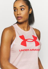 Under Armour - SPORTSTYLE GRAPHIC TANK - Camiseta de deporte - beta tint - 4