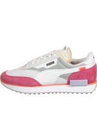 Puma - SCHUHE FUTURE RIDER STREAM ON W - Sneakers basse - white-bubblegum - 0