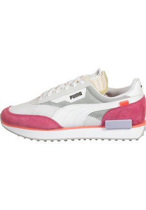 SCHUHE FUTURE RIDER STREAM ON W - Sneakers laag - white-bubblegum