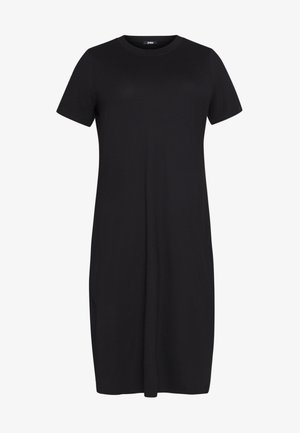 CURVY MIDI - Jersey dress - black