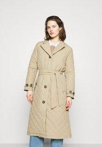 Freequent - URBAN - Classic coat - beige sand - 0