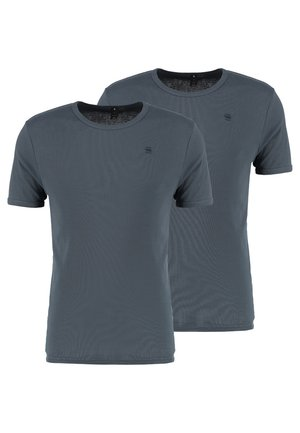 BASE 2 PACK  - T-shirt - bas - dark slate
