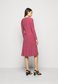 Lauren Ralph Lauren - PRINTED MATTE DRESS - Jerseyklänning - orient red - 2
