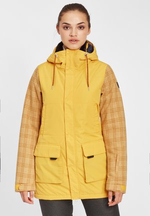 SNOW PARKA - Snowboard jacket - old gold