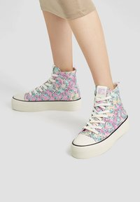 PULL&BEAR - Baskets montantes - multi coloured - 0