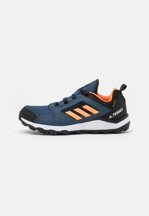 TERREX AGRAVIC TR GTX - Vaelluskengät - crew navy/screaming orange/hazy blue