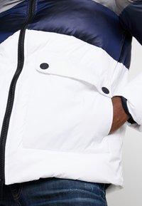 Antony Morato - COAT WITH STRIPES AND DETACHABLE HOOD - Winter jacket - white - 4