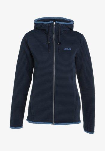 MODESTO  - Zip-up sweatshirt - midnight blue
