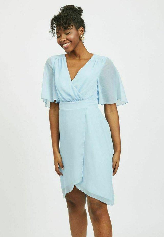 VIRILLA 2/4 SLEEVE DRESS - Cocktailjurk - cashmere blue