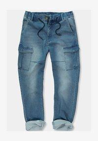 JP1880 - GROSSE GRÖSSEN - Jeans Tapered Fit - blue denim - 0