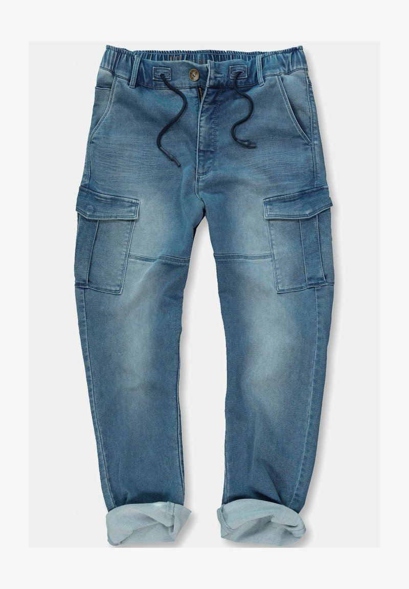 JP1880 - GROSSE GRÖSSEN - Jeans Tapered Fit - blue denim