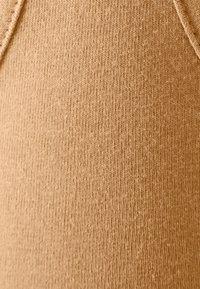 Missguided - SCOOP NECK BRALET 90'S SET - Teplákové kalhoty - camel - 4