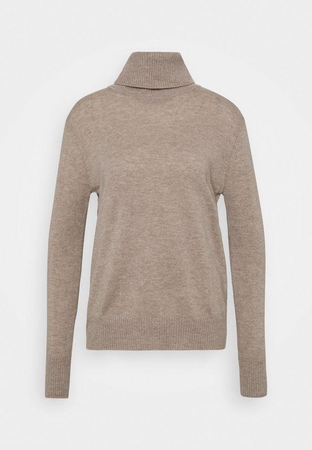 WOOL & CASHMERE - Svetr - beige/grey