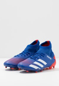 adidas Performance - PREDATOR 20.3 FG - Moulded stud football boots - royal blue/footwear white/active red - 3