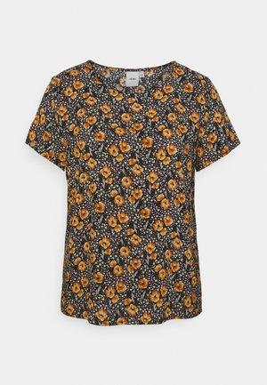 TESSA - Print T-shirt - black