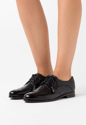 SELINA - Lace-ups - black