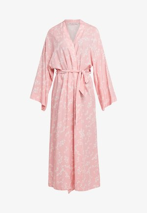 LISHA - LONG PRINTED ROBE  - Bademantel - PINK