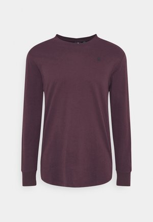 LASH R T L\S - Long sleeved top - bordeaux