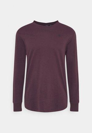 LASH R T L\S - T-shirt à manches longues - bordeaux