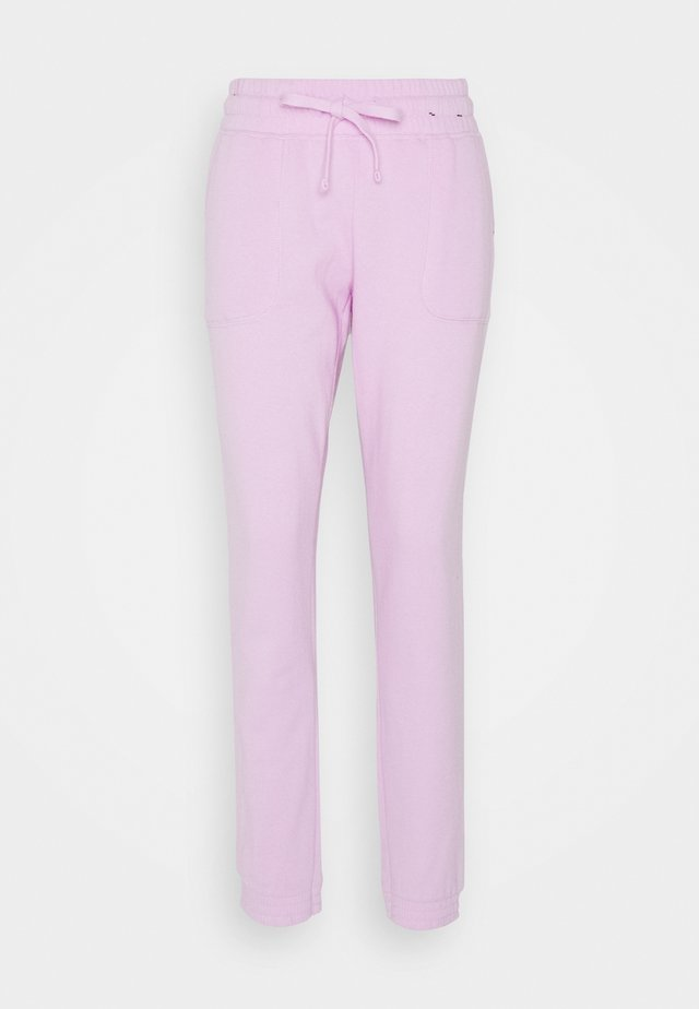 GYM TRACK PANTS - Pantaloni sportivi - blossom marle