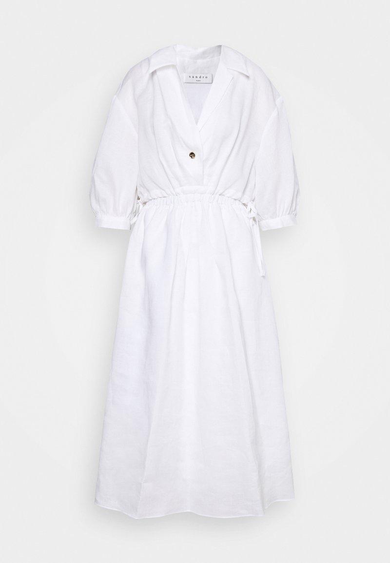 sandro - Košilové šaty - ecru