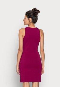 Calvin Klein Jeans - MICRO BRANDIN RACER BACK DRESS - Jerseyjurk - purple - 2