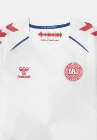 Hummel - DÄNEMARK DBU AWAY UNISEX - Club wear - white - 2