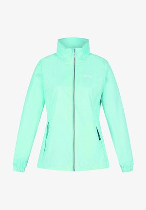 Waterproof jacket - cool aqua