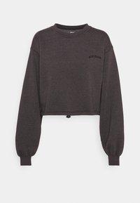 BUBBLE HEM - Sweatshirt - grape