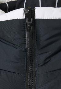 Karl Kani - UNISEX RETRO BLOCK REVERSIBLE PUFFER  - Winter jacket - navy - 2