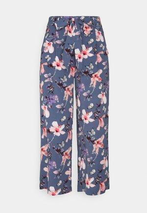 ONLNOVA LUX CROP PALAZZO PANT - Pantalones - vintage indigo
