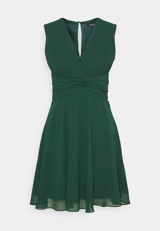 SOREAN MINI - Cocktail dress / Party dress - forest green