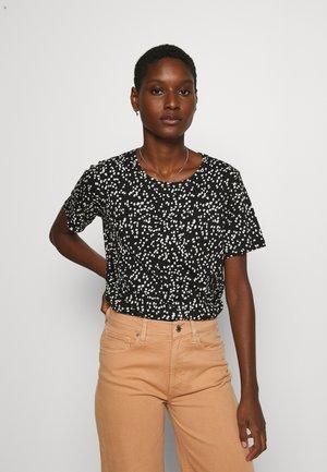 ALMA - Print T-shirt - black