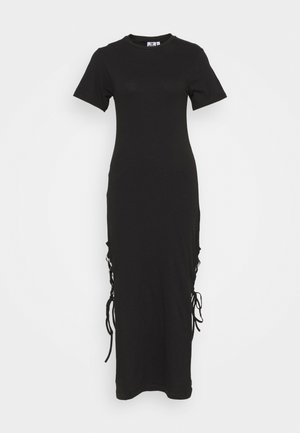 DRESS UP SPLITS - Maxi dress - black