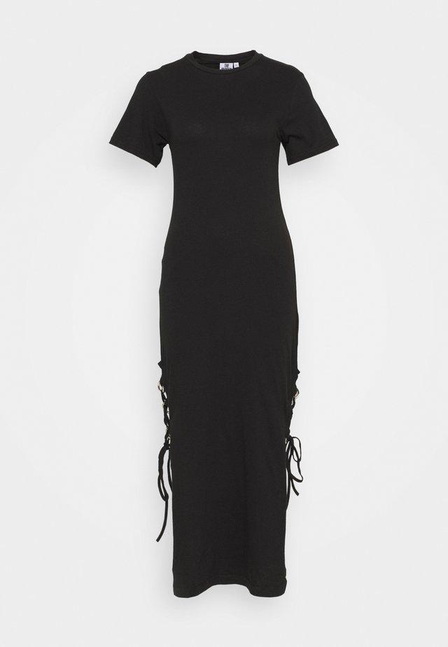 DRESS UP SPLITS - Maxi-jurk - black