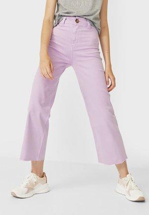 01164693 - Jeans Straight Leg - mauve