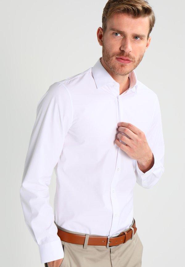 Calvin Klein Tailored Koszula - white/biały Odzież Męska NYOL