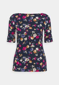 Lauren Ralph Lauren - Print T-shirt - french navy/multi - 0