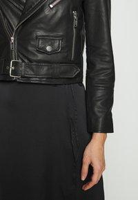 Deadwood - JOAN JACKET - Leather jacket - black - 4