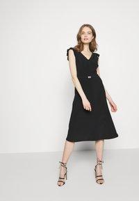 Lauren Ralph Lauren - BONDED DRESS - Jersey dress - black - 1