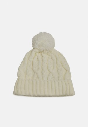 CABLE HAT UNISEX - Beanie - ivory frost