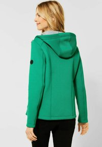 Cecil - Zip-up hoodie - grün - 0