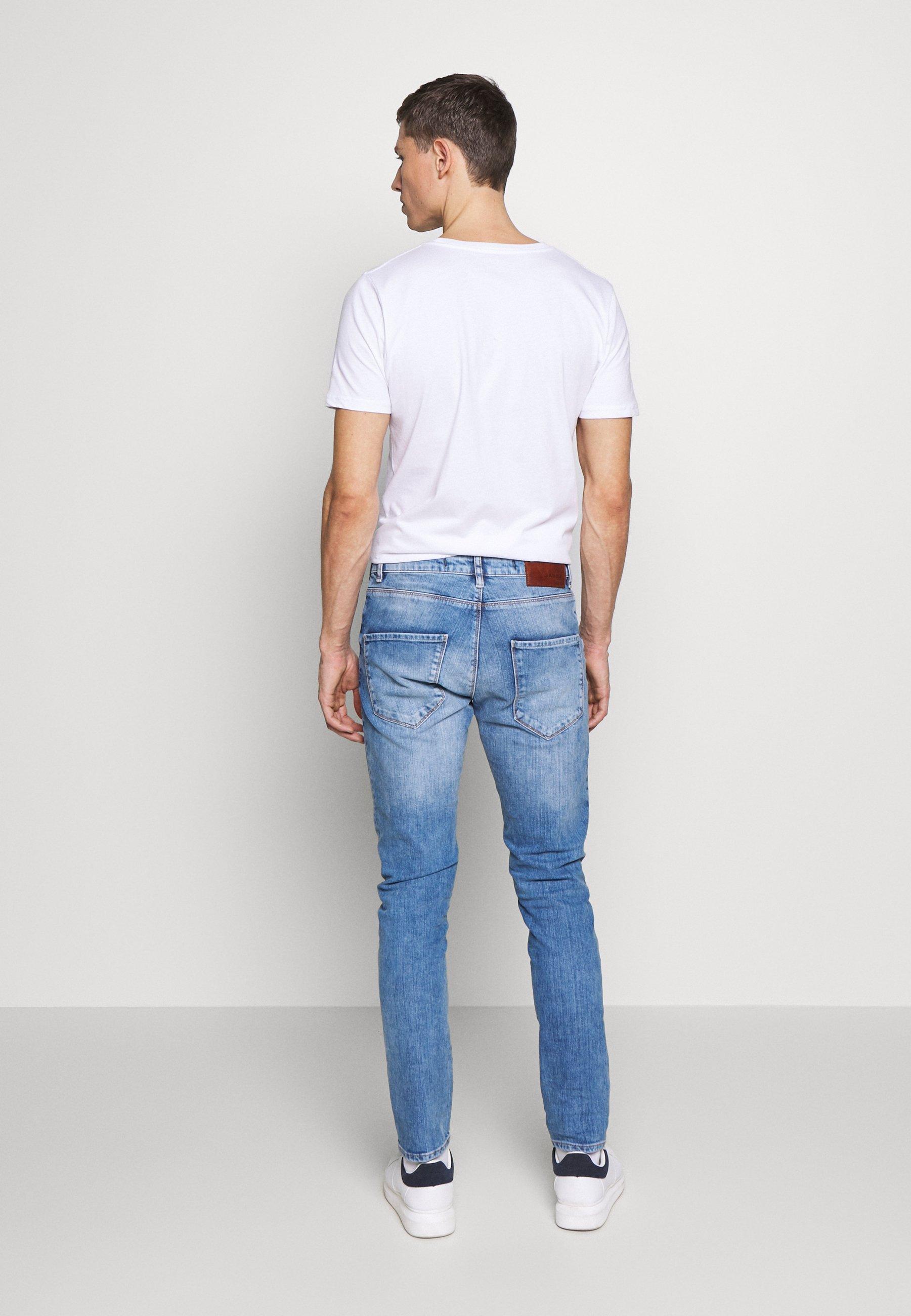 Gabba REY - Jean slim - blue denim
