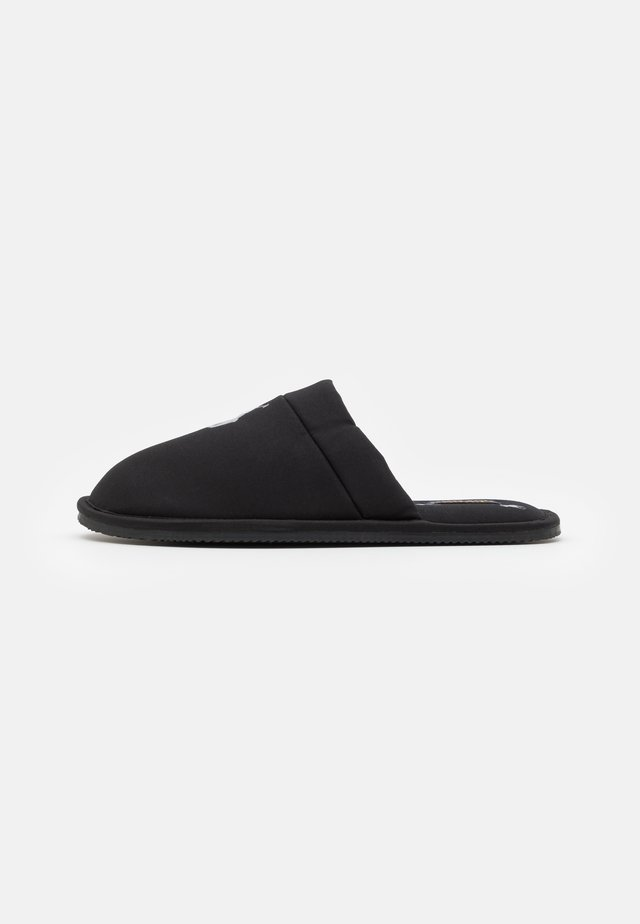 KLARENCE  - Slippers - black/grey