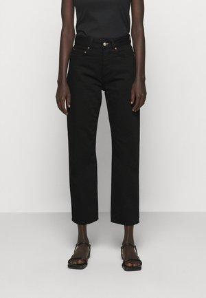 PEARL RINSE  - Straight leg jeans - rinse black