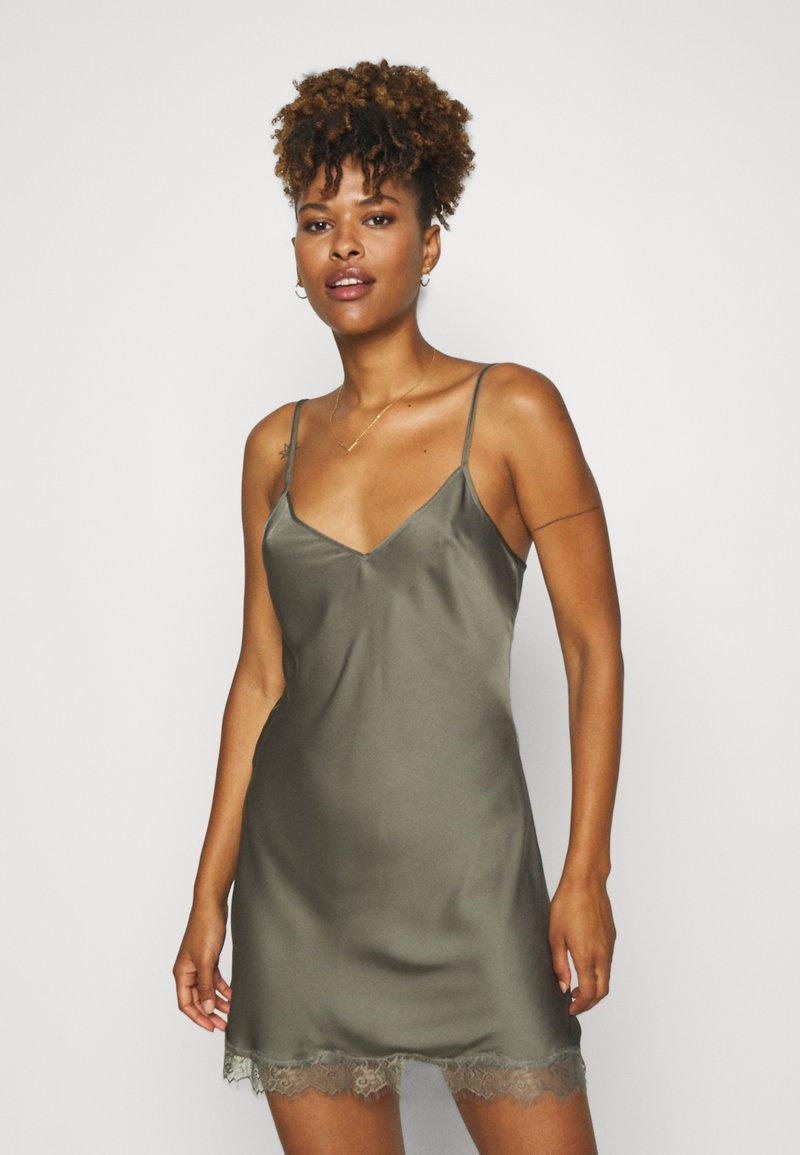 LingaDore - CHEMISE - Camicia da notte - dusty olive