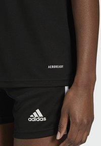 adidas Performance - SQUADRA 21 - Camiseta estampada - black/white - 5