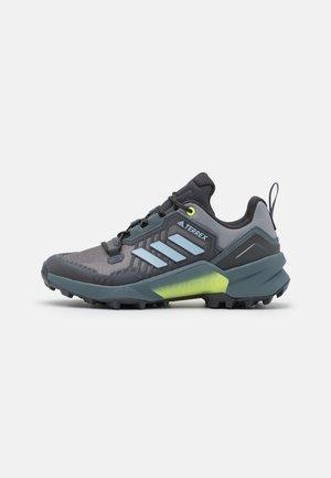 TERREX SWIFT R3 - Hiking shoes - grey three/halo blue/hi-res yellow